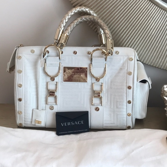 22927bd4f08 Gianni Versace Couture Bags   Authentic Versace Bag   Poshmark